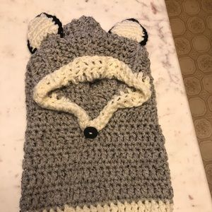 Other - Child's Raccoon Cowl Hat
